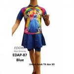 Baju Renang Anak Karakter EDAP-87 Biru