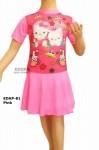 Baju Renang Diving Karakter EDAP-81 Pink