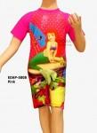Baju Renang Diving Karakter EDAP-5008 Pink