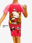 Baju Renang Diving Karakter EDAP-5012 Pink