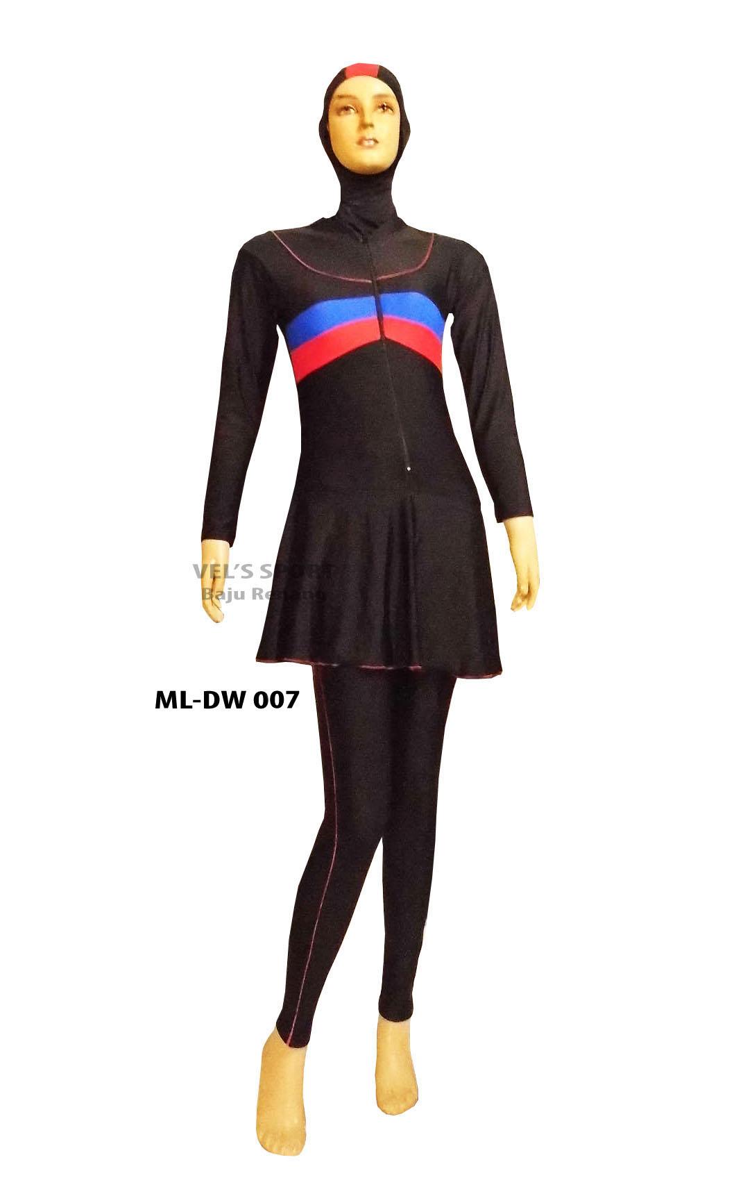 Baju Renang Muslimah ML DW 007