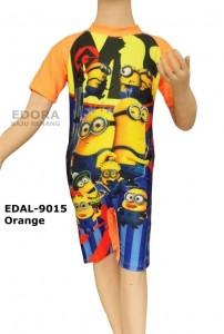 EDAL-9015 Orange-agen baju renang edora anak laki-laki