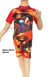 EDAL-9021 Merah-agen baju renang anak laki karakter
