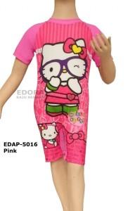 EDAP-5016 Pink-baju renang diving anak perempuan karakter