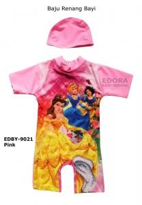 EDBY-9021 Pink-toko baju renang edora anak bayi karakter