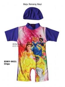 EDBY-9021 Ungu-toko grosir baju renang bayi karakter