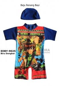 EDBY-9025 Biru Dongker-baju renang anak bayi