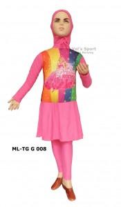 ML-TG G 008-vel's sport baju renang muslim karakter perempuan