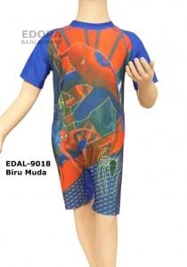EDAL-9018 Biru Muda-grosir edora baju renang diving anak-anak