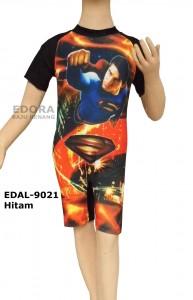 EDAL-9021 Hitam-agen online pakaian renang diving anak karakter