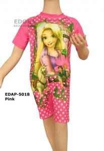 EDAP-5018 Pink-edora baju renang anak perempuan