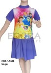 Baju Renang Diving Rok Karakter EDAP-5510 Ungu