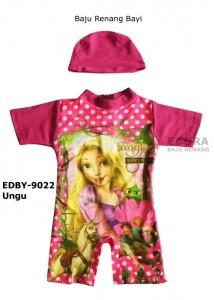 EDBY-9022 Ungu-agen online perlengkapan baju renang bayi
