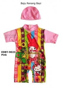 EDBY-9023 Pink-toko grosir baju renang edora anak bayi