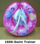 1666-Princess Light Pink Swim Trainer