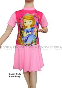 EDAP-5512 Pink Baby-baju renang anak cewek karakter