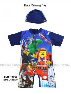 EDBY-9029 Biru Dongker-grosir edora busana renang bayi