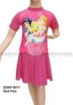 Baju Renang Diving Rok Karakter EDAP-5517 Red Pink