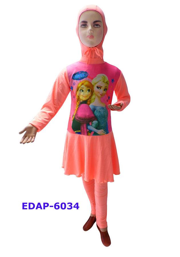Baju Renang Anak Muslimah Karakter Edap 6034 Salem