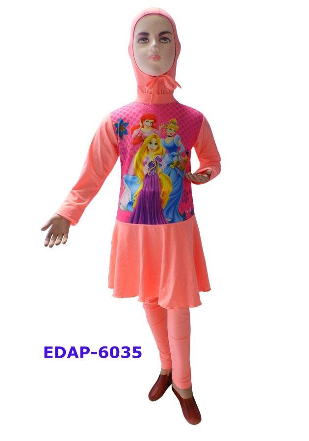 Baju Renang Anak Muslimah Karakter Edap 6035 Salem