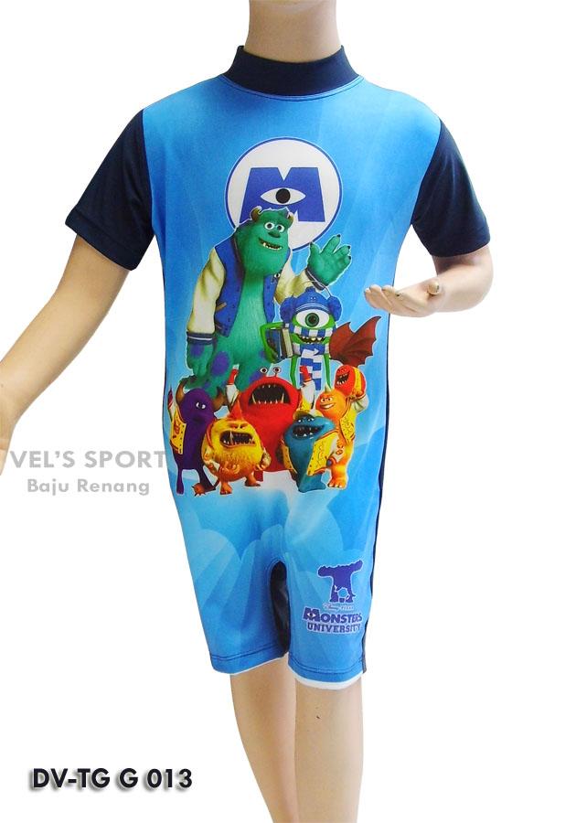 Baju Renang Diving Anak Karakter Dv Tg G 013 Distributor