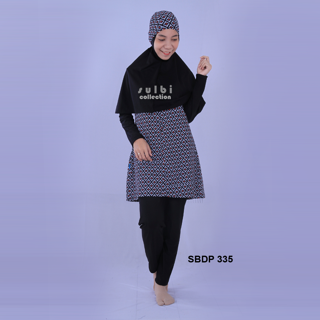 Baju Renang Muslimah Dewasa SBDP 335