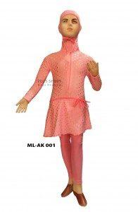 Baju Renang Muslimah Anak ML-AK 001