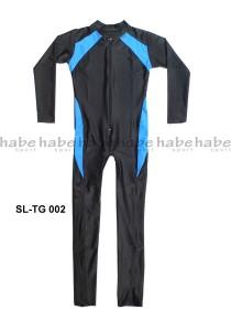 SL-TG 002-habe sport baju renang diving panjang polos