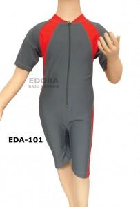 EDA-101-baju renang diving polos anak edora sport