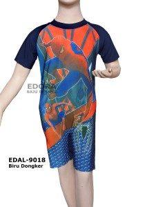 Baju Renang Diving Karakter EDAL-9018 Biru Dongker