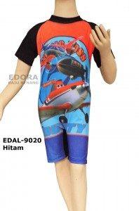 Baju Renang Diving Karakter EDAL-9020 Hitam