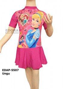 Baju Renang Diving Rok Karakter EDAP-5507 Ungu