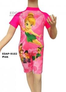 EDAP-9102-Pink-baju diving renang anak-anak