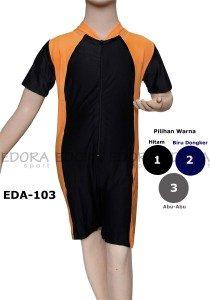 Baju Renang Anak Polos EDA-103 (3 Warna)