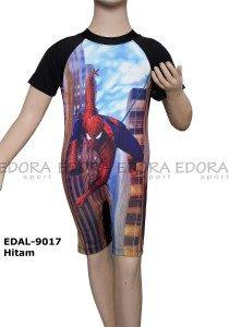 Baju Renang Diving Karakter EDAL-9017 Hitam