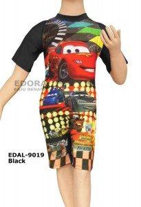 Baju Renang Diving Karakter EDAL-9019 Black