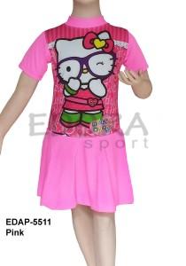 EDAP-5511 Pink-agen toko pakaian renang anak cewek
