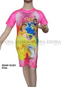EDAP-9103 Pink-grosir online baju renang diving anak