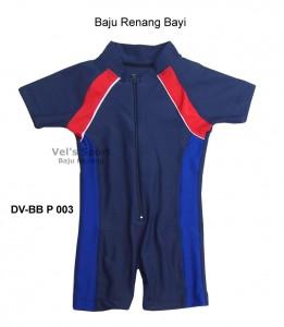 DV-BB P 003-baju renang vels sport baby polos