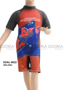 EDAL-9022 Abu-Abu-agen edora baju renang anak-anak