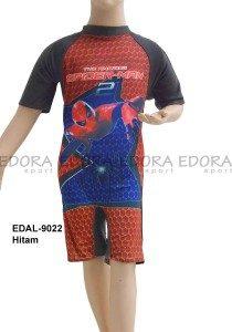 Baju Renang Diving Karakter EDAL-9022 Hitam