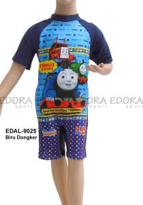 EDAL-9025 Biru Dongker-pakaian renang diving anak karakter thomas