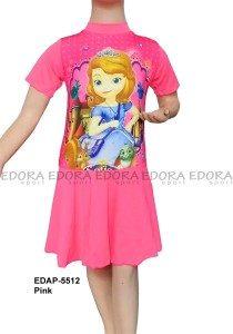 Baju Renang Diving Rok Karakter EDAP-5512 Pink