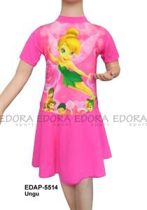 EDAP-5514 Ungu-edora toko pakaian renang anak cewek