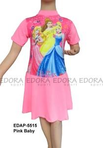 EDAP-5515 Pink Baby-baju renang diving rok pink