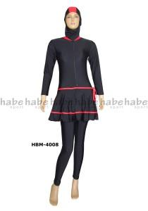 HBM-4008-baju renang wanita cantik muslim