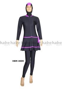 HBM-4009-toko habe baju renang muslimah
