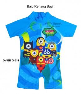 DV-BB G 014-pakaian renang vels sport baby karakter