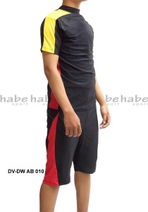 DV-DW AB 010-habe sport baju renang atas bawah