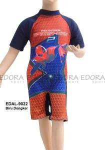 EDAL-9022 Biru Dongker-jual baju renang anak diving gambar